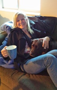 Dianne and Koda Girl Dec 28 2013