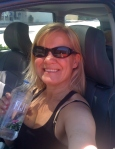 Dianne in car 8-8-13