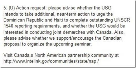 UN 1540 Haiti non-compliance Dated 03-2009