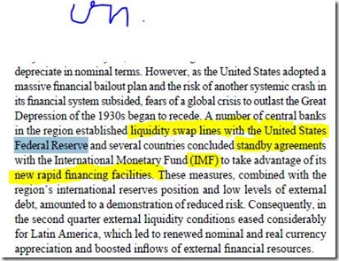 Fed Reserve and IMF report  12-2011