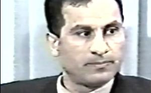 Ali Mohamed facing level 1989