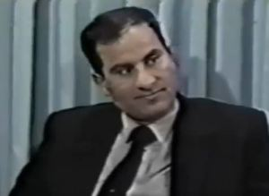 Ali Mohamed with grin 1989